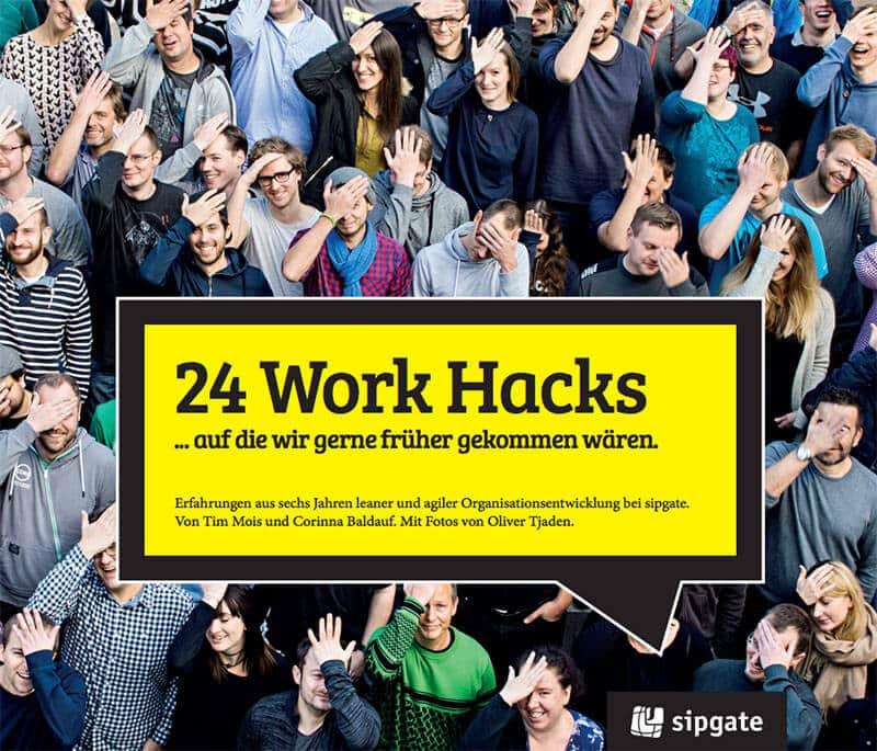 """Buchcover """"24 Work Hacks"""""""
